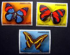 1976 PARAGUAY - MARIPOSAS