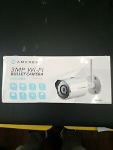 Amcrest 3mp Wifi Bullet Camera ip3m-943w (B)