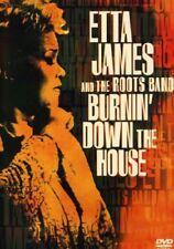 ETTA JAMES BURNIN' DOWN THE HOUSE DVD REGION 1 NTSC NEW