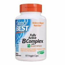 Fully Active B Complex 60 Veggie Caps by Doctors Best