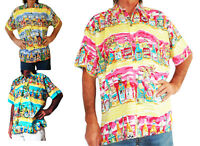 LOUD HAWAIIAN men's shirt with tropical beer bottles, holiday, stag night, party