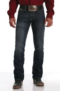 Cinch Mens Ian Mid Rise Slim Boot Cut Jean - 34' Leg - Sizes 30' to 40'