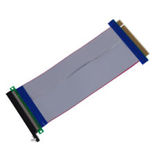 New PCI-Express PCI-E 16X Riser Card Ribbon Extender Extension 20cm Cable
