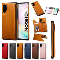 Fr Samsung Galaxy Note10+/S10 5G/S10e/S9/S8 Wallet Flip Stand Leather Case Cover