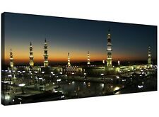 Al Masjid an Nabawi - Prophets Mosque  Medina - Islamic Canvas - Muslim Wall Art