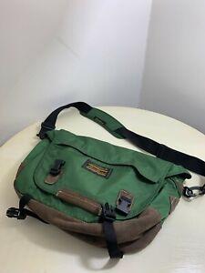 Eddie Bauer Messenger Laptop Brief Case Career School college Book Bag strap men