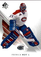 2017-18 SP Authentic Hockey #100 Patrick Roy Montreal Canadiens