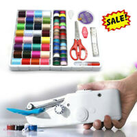 Mini Portable Smart Electric Tailor Stitch Hand-held Sewing Machine Home Travel*