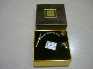 GM Service Award Complete Pin Tie Tac 15 Years Set - With Case
