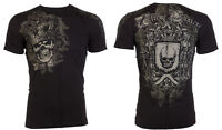 Xtreme Couture AFFLICTION Mens T-Shirt ORDAINED Skull Tattoo Biker  S-4XL $40