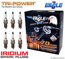 IGNITION LEADS & IRIDIUM PLUGS - for Triton MK V6 3.0L 6G72 24v 1996 to 8/2003