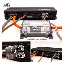 Elite Audio 0 Gauge Cca Premium Amp Kit Complete 3600W Installation Wiring Kit