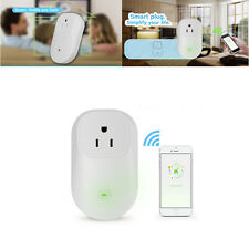US Plug  Smart Digital WiFi Remote Control Timer Socket Outlet Switch For Phone