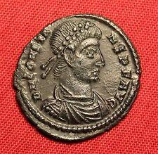 Ancient Roman Bronze AE3 Coin, Constans