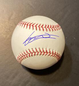 Vladimir Guerrero Jr Blue Jays Autographed Signed Baseball JSA WITNESS COA Auto