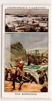 Bermuda Islands British Colony Hamilton Harbor 1930s Ad Trade Card