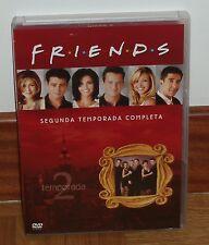 FRIENDS - 2ª TEMPORADA COMPLETA - NUEVA - 4 DVD - SERIES - COMEDIA - DVD