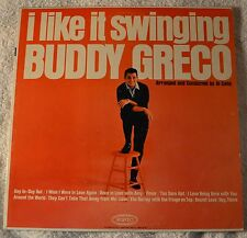 Buddy Greco I Like It Swinging Jazz Male Vocal LP NM Plays Great Fever Day In