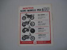 advertising Pubblicità 1970 MONTESA CAPPRA 175-250/COTA