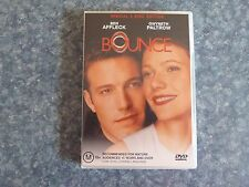 DVD MOVIE - BOUNCE STARING BEN AFFLECK & GWYNETH PALTROW. SPECIAL 2 DISC EDITION