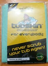 Brand New Green TubSkin Sani-Tub Liner For Everyone! Non-Toxic/Biodegrable Nip