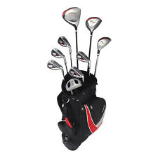 New RAM G-Force Men's Complete Golf Set w/ 9 Clubs + Cart Bag RIGHT HANDED
