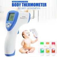 LCD Digital Thermometer Infrared Baby Adult Forehead Non-touch Temperature Gun