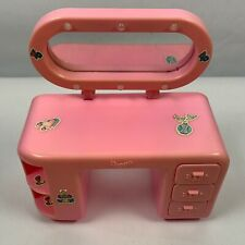 Barbie Doll Furniture 1985 MULTI-TOYS CORP Pink Vanity Not Working