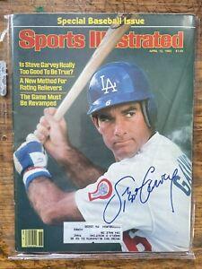 Steve Garvey Autographed Signed 4/12/82 Sports Illustrated SI 1982 Dodgers