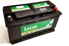 Lucas 019 Car Battery- FITS MERCEDES BENZ A [Replaces 000 982 33 08] 12V 100AH