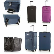 """26"""" Medium Strong Super Lightweight 4 Wheel Spinner Suitcase Cases Luggage"""