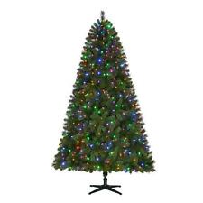 NEW- Home Accents 7.5 ft. 550 Color Changing LED Artificial Christmas Tree
