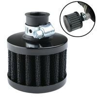 12mm Car Oil Air Filter Intake Vent Valve Cover Breather Fuel Crankcase Filter