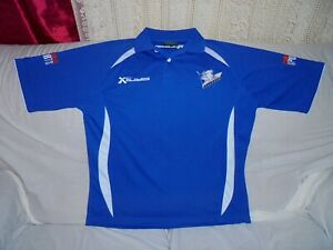 CANTERBURY BULLDOGS NRL BLADES POLO SHIRT SIZE LARGE