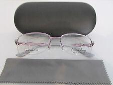 66af72160b3d Sophia Loren Beau Rivage 80 118 Mauve Rimless Eyeglasses Rx-Able Frame