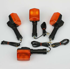 4x Clignotants Indicateur pour Honda CB 500 NX 250 650 XRV 750 Africa-Twin