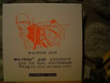 PETER BROTZMANN OCTET Machine Gun - Alternate Takes LP/1968/FMP/Cien Fuegos