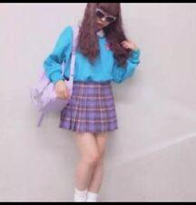 Japanese Kawaii Tokyo Harajuku fashion Wego Bubbles school girl pleated skirt