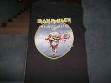 Vintage 80s DEADSTOCK Iron Maiden T Shirt Seventh Son Of A Seventh Son Tour XL