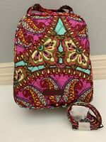 Vera Bradley Resort Medallion Lunch Bunch Insulated Bag Tote & Lanyard with Tags
