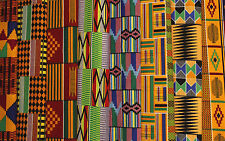 Fat Quarter Bundle *African Kente Print  Patching,Quilting,Crafting And sewing*