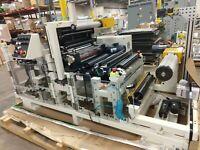 NEW Preco Cold Laminator/Laminating and Rewinder Module Machine