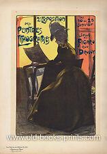 FERDINAND LOUIS GOTTLOB - schönes Plakat bei Maitres de l'Affiche um 1900!