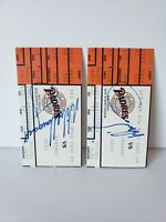 1992 Padres Vs Cubs Ticket Stubs Andy Benes Beats Greg Maddux