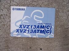 1999 Yamaha XVZ13AM(C) XVZ13ATM(C) Motorcycle Owner Manual MORE IN OUR STORE  S
