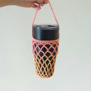 Handmade Crochet Knit Tumbler