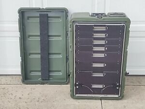 Hardigg Pelican 472-MEDCHEST38 , 8 Drawer Medical Chest /Case, 30x18x10