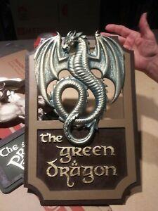 Inn of the Green Dragon Sign LOTR, Green Dragon Sign