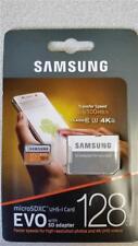 NEW Factory Sealed Samsung MicroSDXC UHS-I Card EVO w/ SD Adapter 128GB Class 10