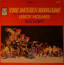 """OST - SOUNDTRACK - THE DEVILS BRIGADE - ALEX NORTH  12"""" LP (L434)"""